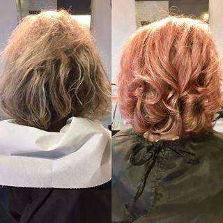 Before and After Pink Dream