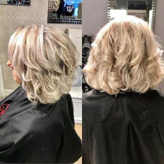 Blonde Highlights with Subtle Natural Lowlights