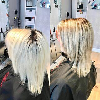 Full Head Bleach Blonde back to Highlights and Lowlights